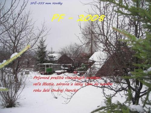 Prajeme Vám príjemné prežitie vianočných sviatkov a v novom roku 2008 veľa  zdravia d8202f2c21e