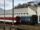 Širokorozchodné osobné vozne na rekonštrukcii v ŽOS Vrútky