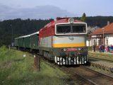 753.109 KHT s historickým vlakom do Hronca