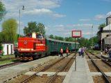 T 444.162 při oslavách trati do Poličky