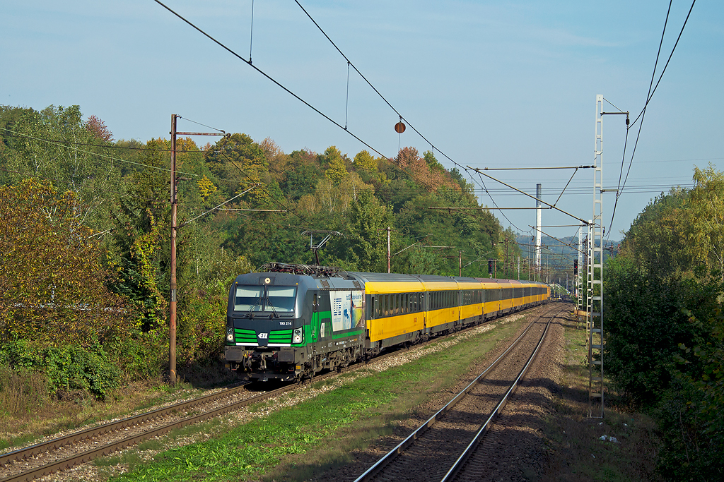 Vlak odchádza z Kysaku. Autor: Matúš Dlugoš.