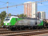 Vectron 193.831 Christian Doppler čaká na odchod z Bratislavy Petržalky