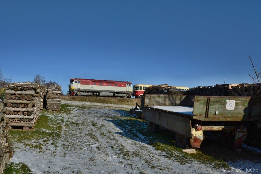 Další záběr u obce Borová u Poličky