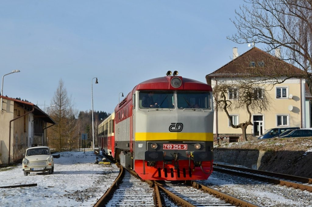 Ve stanici Borová u Poličky
