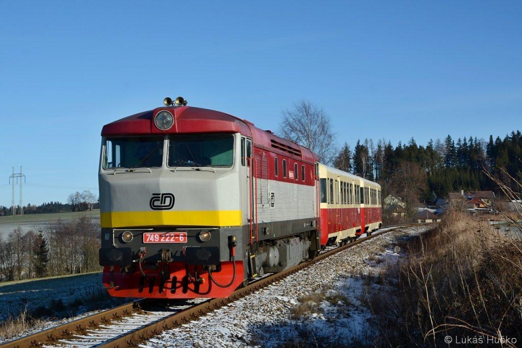 Pár set metů do cílové stanice Čachnov