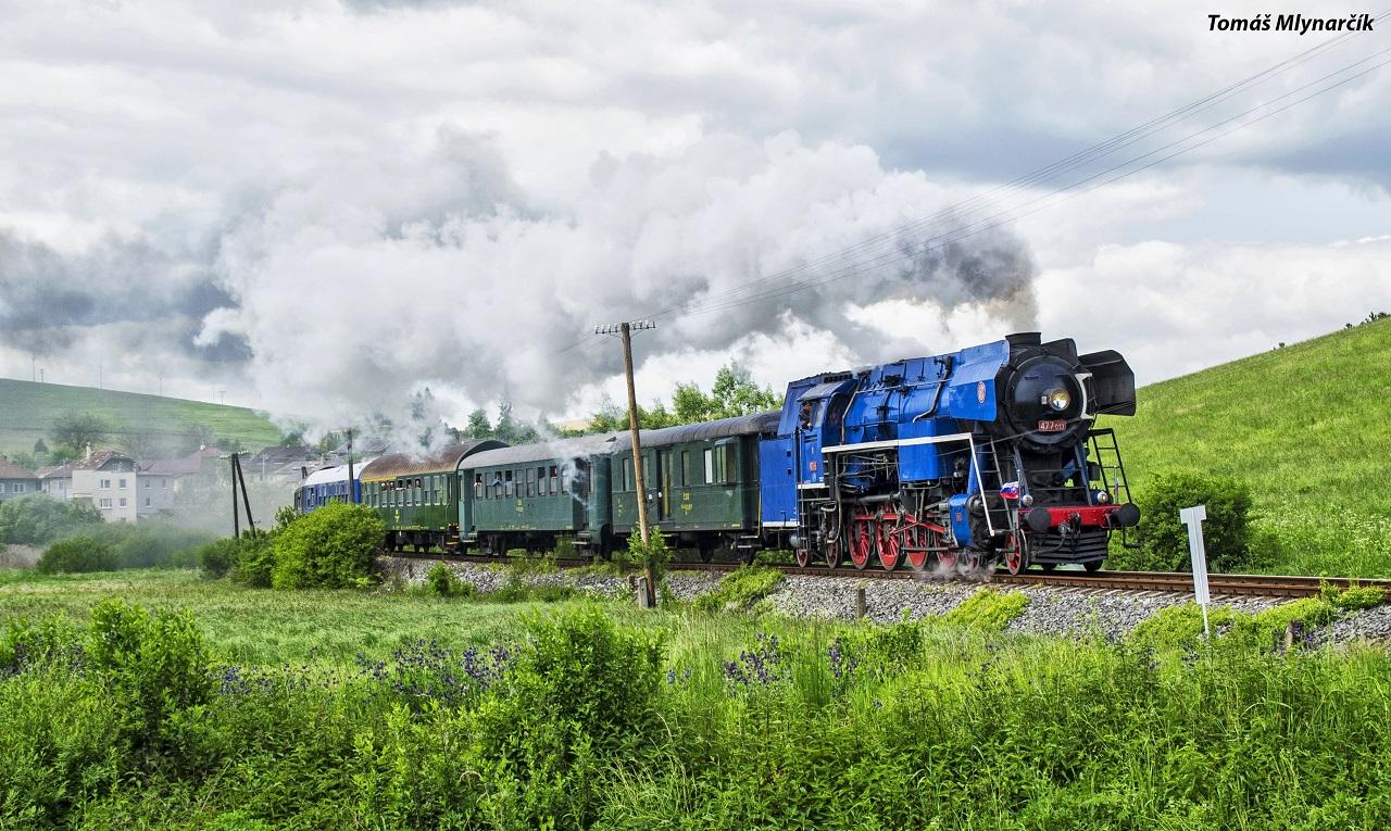 13.477.013 počas mimoriadnej jazdy na trati Spišské Vlachy – Spišské Podhradie