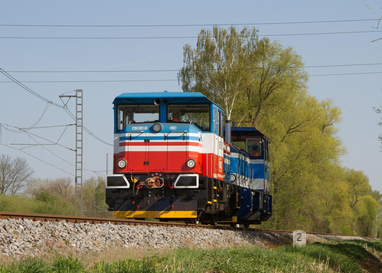 Ilustrační foto - Lokomotivu EffiShunter 300 využívá i společnost Výzkumný Ústav Železniční ve svém Zkušebním centru Velim.
