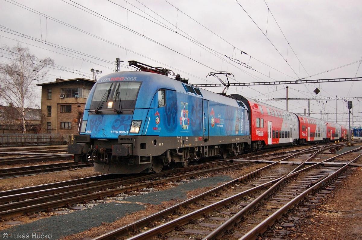 UEFA Taurus 1116.080 jako R 2345 v Břeclavi 10.02.2009