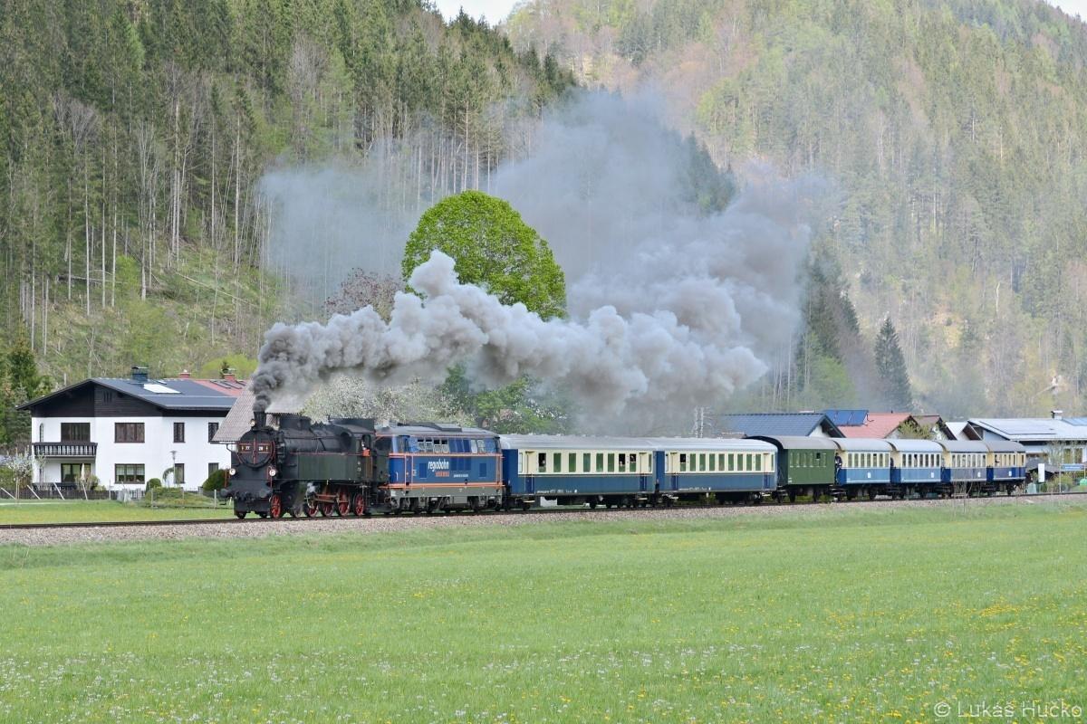 Za bývalou zastávkou Amt Mitterbach