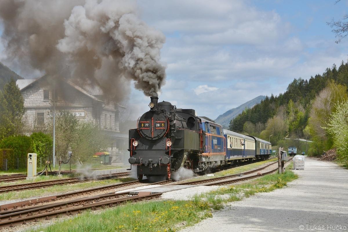 Odjezd ze stanice St.Aegyd am Neuwalde na zastávku Markt St.Aegyd am Neuwalde