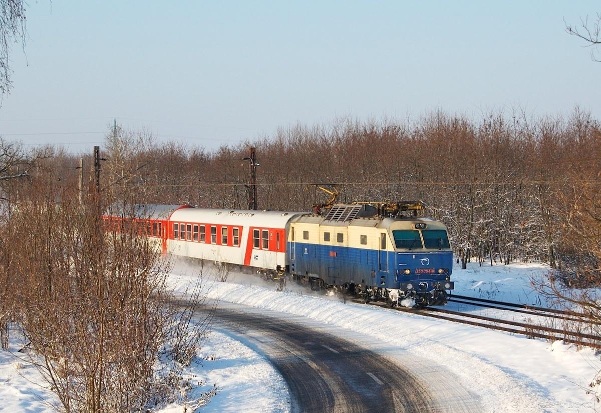 Dne 04.12.2010 se Hugo ukázal na EC 275 poblíž Brodského