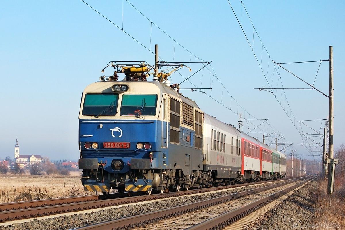 O pár dní později je u Zohoru již skoro jaro. Dne 10.02.2011 s vlakem EC 345