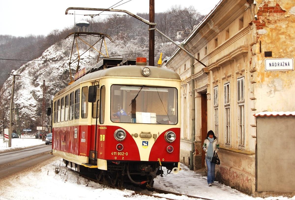 A pro změnu zase TREŽ ale tentokrát na sněhu 411.902 Trenčianské Teplice 17.12.2009 Os 3408