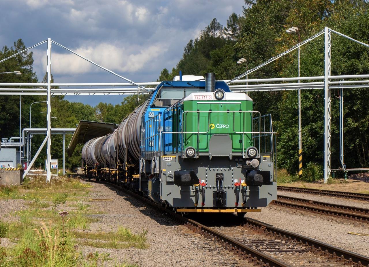 Lokomotivu EffiShunter 600 využije ČEPRO při obsluze svého skladu pohonných hmot v Loukově