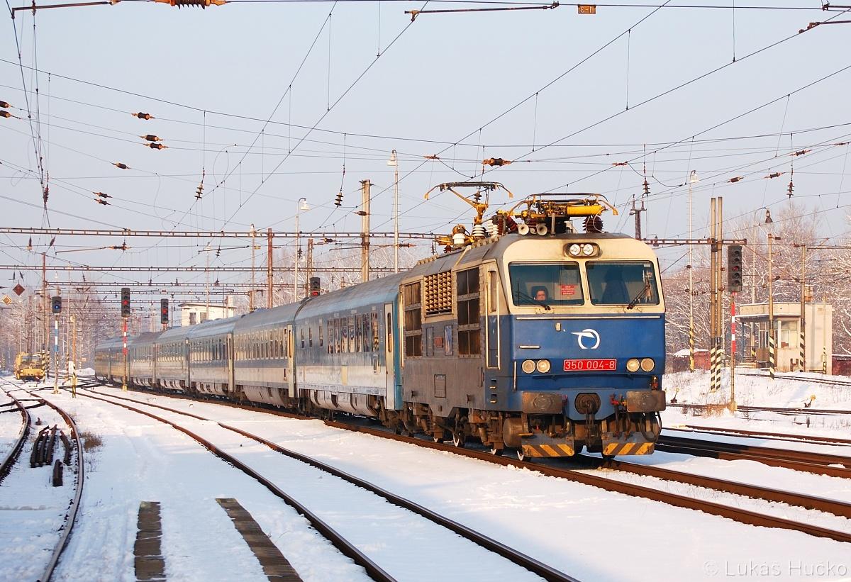 Hugo na Hungárii 350.004 Kúty 28.01.2011 EC 171