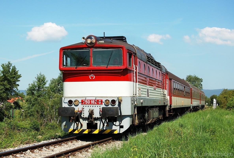 Stroj 750.182 v bratislavské Vrakuni ještě jednou a to dne 10.05.2011 opět na spoji Os 4323