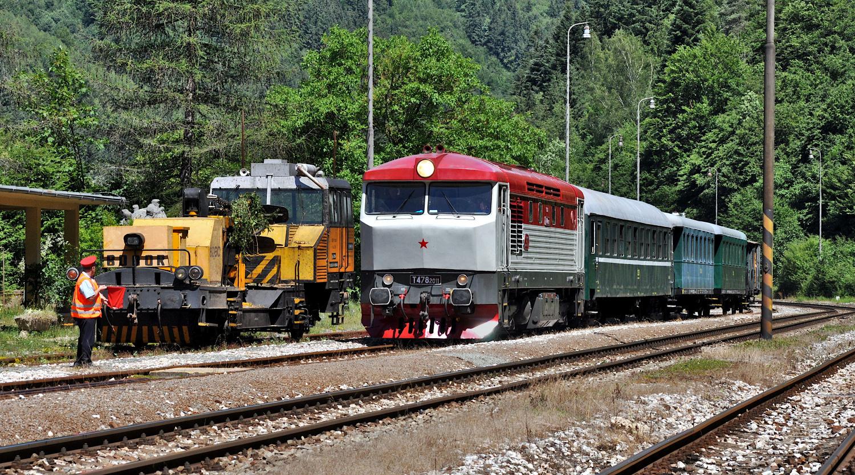 1. Príchod vlaku do Uľanky