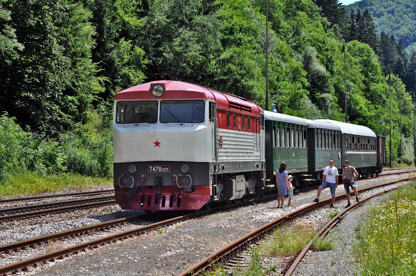 8. Vlak zoradený na spiatoč. cestu