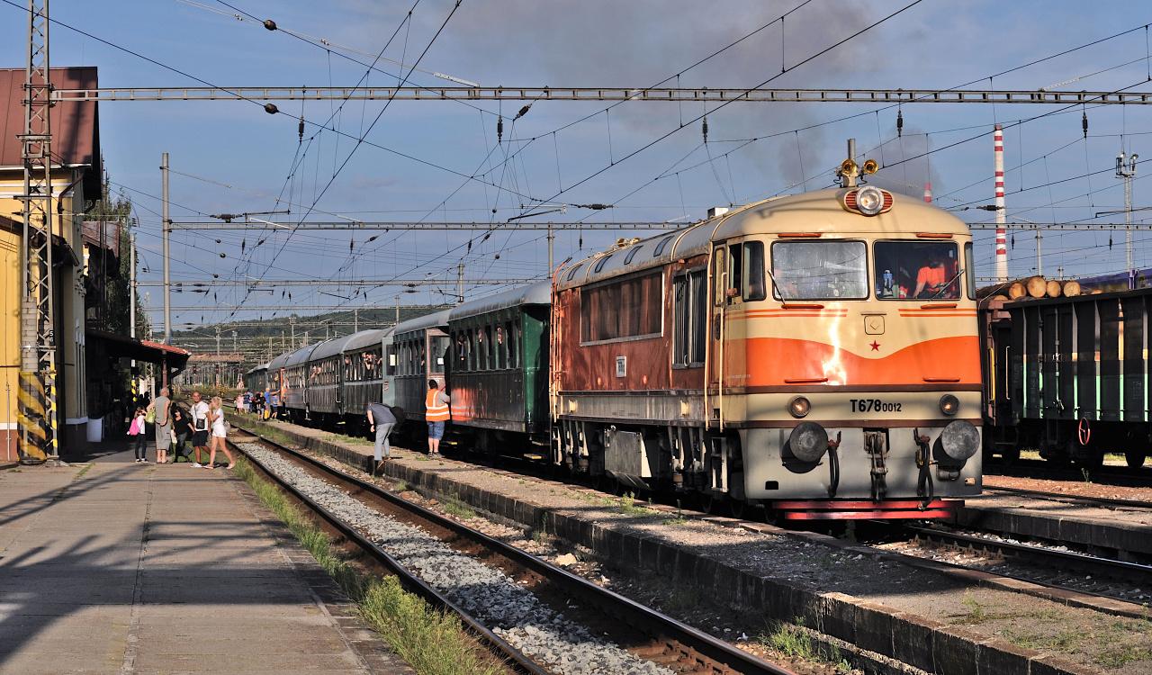 Vlak z Fiľakova s cé-nulou